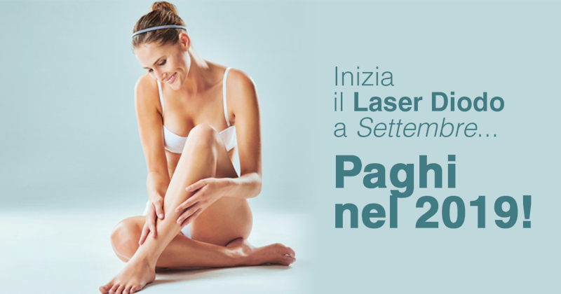 Epilazione laser a Bergamo? Da Epilsuite inizi il tuo trattamento a settembre e paghi nel 2019!
