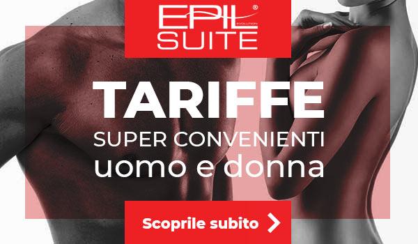 tariffe laser Centro epilazione Epilsuite di Bergamo e seriate