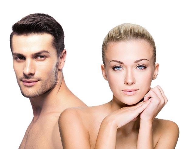 soluzioni di epilazione per uomo e donna